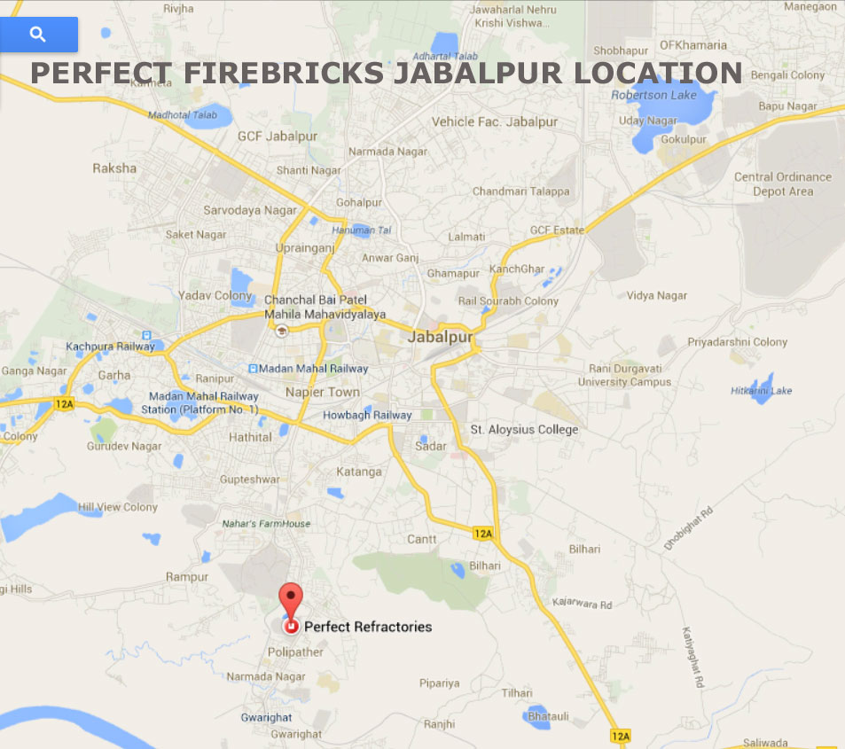 PERFECT FIREBRICKS AND REFRACTORIES JABALPUR